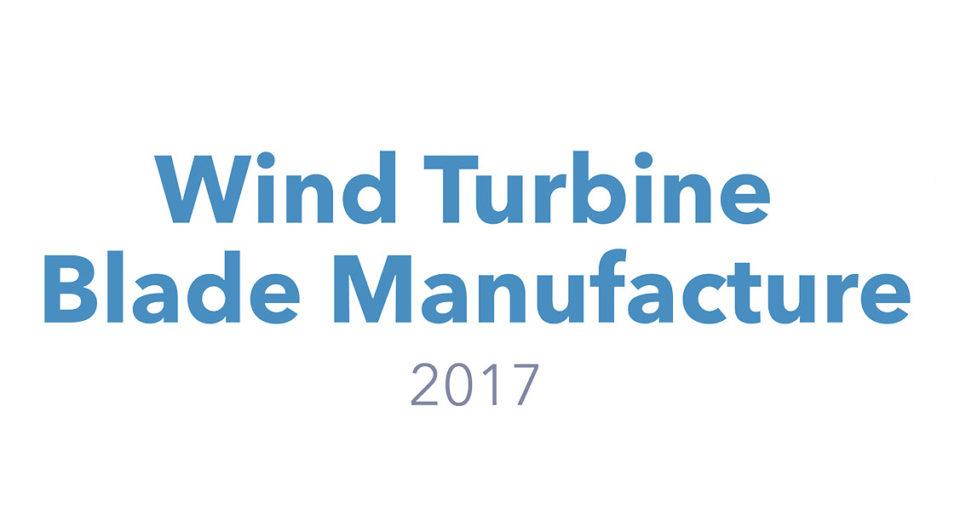 AMI's Wind Turbine Blade Manufacture 2017
